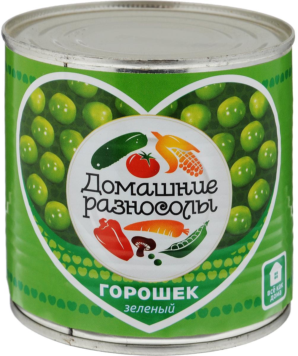 Домашние разносолы горошек зеленый, 400 г0302111021110000Неизменная составляющая салата оливье и винегрета, полезная и быстрая закуска - продолжает оставаться на пике популярности. Супы, салаты, гарниры, паштеты, овощные рагу многие не могут представить себе без этого универсального продукта, который отлично сочетается с мясом, рыбой, любыми овощами, майонезом и прочими соусами. ГОСТ Р 54050-2010, сорт высший. Уважаемые клиенты! Обращаем ваше внимание, что полный перечень состава продукта представлен на дополнительном изображении.