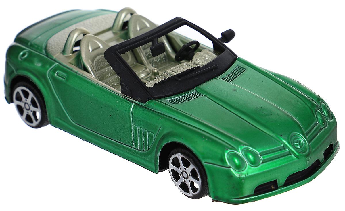 Junfa Toys Кабриолет инерционный цвет зеленыйA6578_зеленыйИнерционный кабриолет Junfa Toys, выполненный из безопасного пластика, станет любимой игрушкой вашего ребенка. Машинка изготовлена в виде яркого кабриолета с двумя сиденьями. Игрушка оснащена инерционным ходом. Необходимо просто отвести ее назад, затем отпустить - и она быстро поедет вперед. Ребристые колеса обеспечивают надежное сцепление с любой поверхностью. Ваш ребенок будет увлеченно играть с этой машинкой, придумывая различные истории. Порадуйте его таким замечательным подарком!