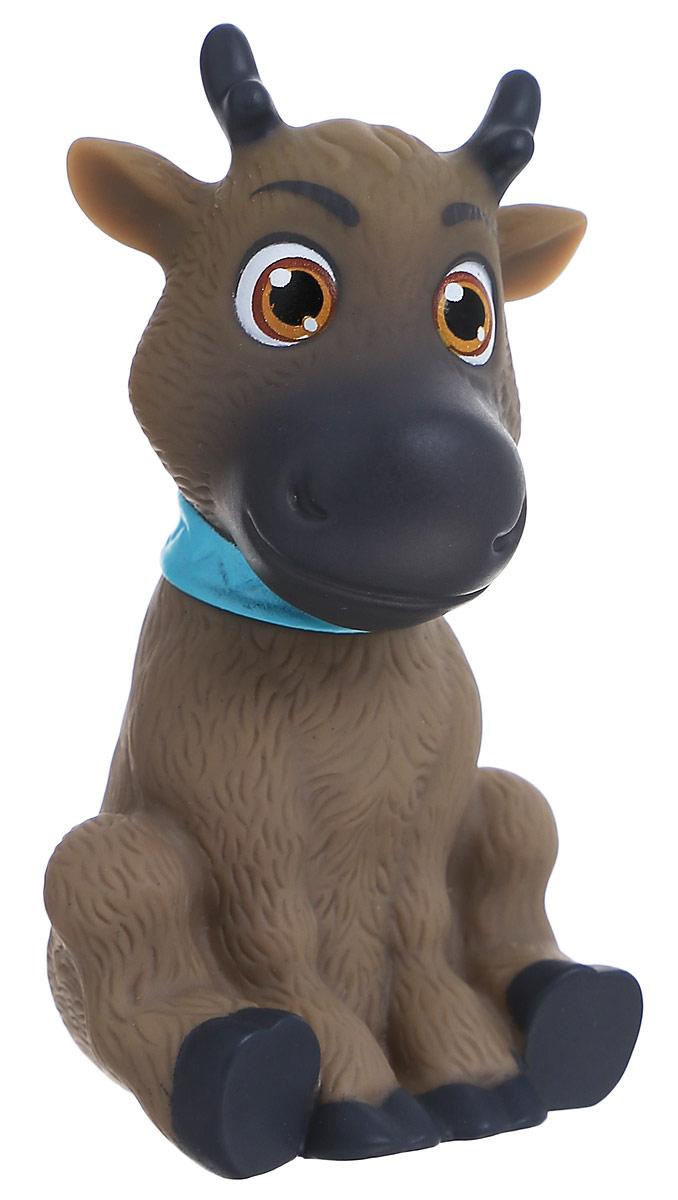 Disney Frozen Фигурка Sven758960_SvenФигурка Disney Frozen Sven выполнена в виде героя мультфильма Холодное сердце, симпатичного оленя Свена. Олень сидит на задних лапах и смотрит на вас большими карими глазами. Игрушка изготовлена из прочного безопасного материала. Небольшую по размеру фигурку малыш сможет везде брать с собой. Порадуйте своего ребенка такой замечательной игрушкой.