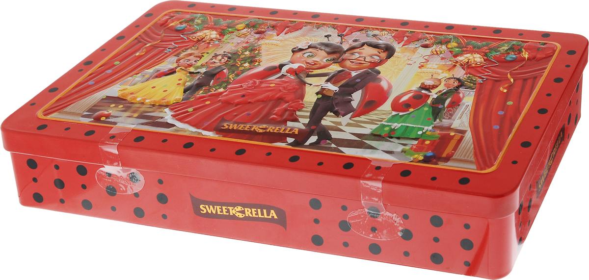 """Sweeterella """"Новогодний фейерверк"""" конфеты шоколадные ассорти, 140 г иба022"""