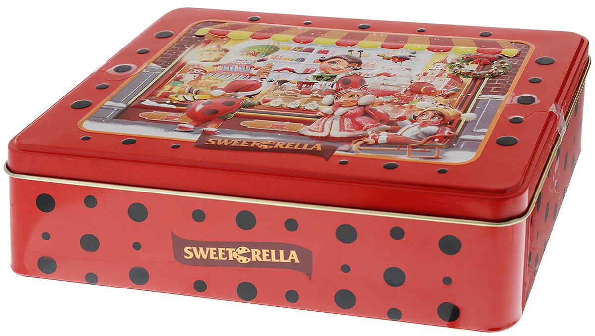 Sweeterella печенье сдобное ассорти, 6 вкусов, 510 гибб002Sweeterella - ассорти превосходного сдобного печенья, изготовленного по традиционным старинным рецептам. Печенье упаковано в удобную прямоугольную жестяную банку. Ассорти из 6 видов превосходного сдобного печенья: - печенье с кусочками шоколада и апельсина; - печенье с яблоком и корицей; - печенье с хлопьями миндаля; - печенье с кокосовой стружкой; - печенье с яблоком и изюмом; - печенье с кусочками шоколада. Уважаемые клиенты! Обращаем ваше внимание, что полный перечень состава продукта представлен на дополнительном изображении.