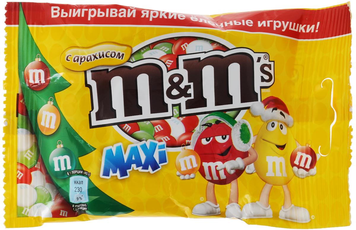 M&M's драже с арахисом, 70 г