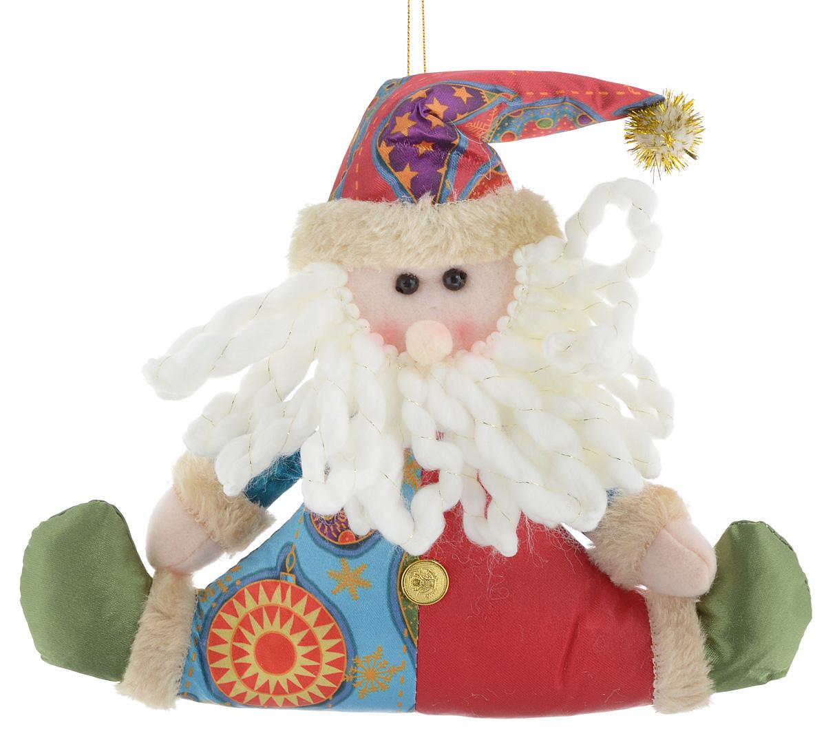 Украшение новогоднее подвесное Win Max Дед Мороз, 17 х 20,5 см175830_CНовогоднее подвесное украшение Win Max Дед Мороз, выполненное из синтепона и текстиля, прекрасно подойдет для праздничного декора дома. С помощью специальной петельки украшение можно подвесить в любом понравившемся вам месте. Новогодние украшения несут в себе волшебство и красоту праздника. Они помогут вам украсить дом к предстоящим праздникам и оживить интерьер по вашему вкусу. Создайте в доме атмосферу тепла, веселья и радости, украшая его всей семьей.