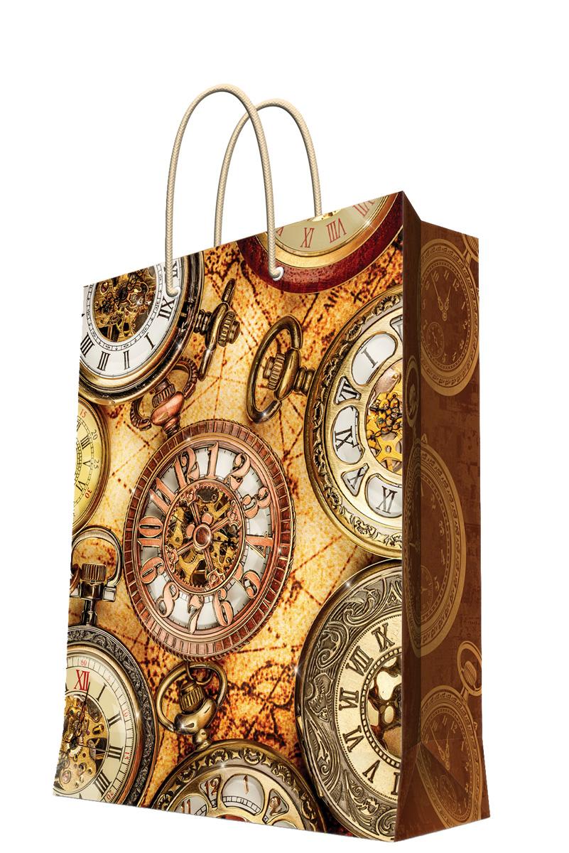 Пакет подарочный Magic Home Хронографы, 26 х 32,4 х 12,7 см44219Подарочный пакет Magic Home, изготовленный из плотной бумаги, станет незаменимым дополнением к выбранному подарку. Дно изделия укреплено картоном, который позволяет сохранить форму пакета и исключает возможность деформации дна под тяжестью подарка. Пакет выполнен с глянцевой ламинацией, что придает ему прочность, а изображению - яркость и насыщенность цветов. Для удобной переноски имеются две ручки в виде шнурков. Подарок, преподнесенный в оригинальной упаковке, всегда будет самым эффектным и запоминающимся. Окружите близких людей вниманием и заботой, вручив презент в нарядном, праздничном оформлении. Плотность бумаги: 140 г/м2.