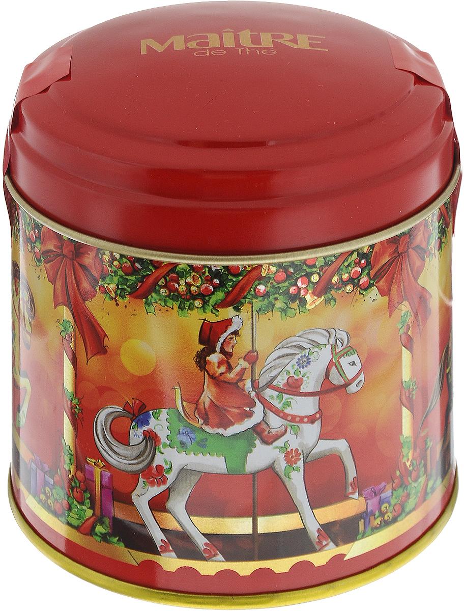Maitre Карусель чай черный листовой со вкусом клубники, 90 гбаж058Превосходный черный листовой чай Maitre Карусель со вкусом клубники со сливками. В новогодней подарочной упаковке. Отлично подойдет в качестве подарка на новогодние праздники. Уважаемые клиенты! Обращаем ваше внимание, что полный перечень состава продукта представлен на дополнительном изображении.