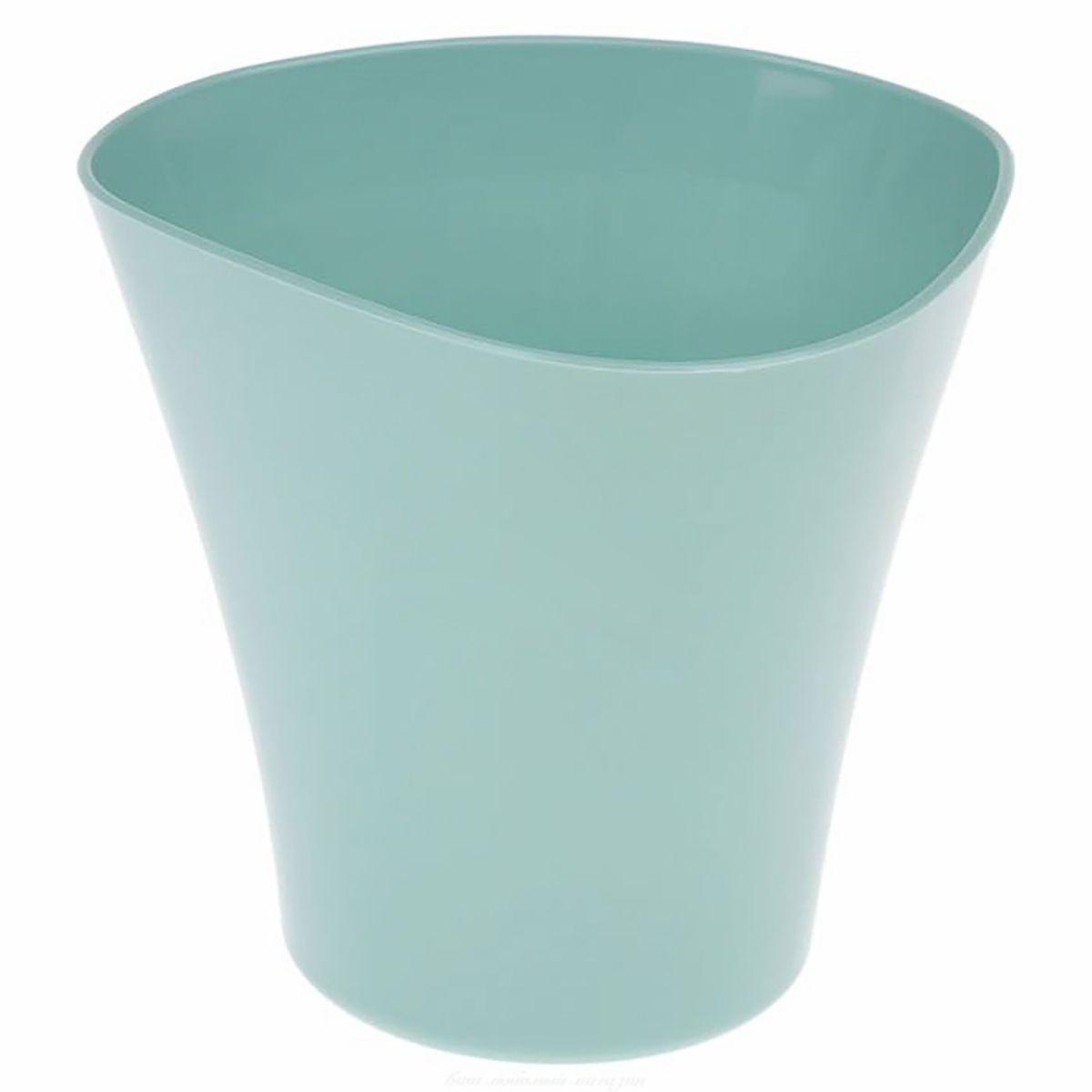 Кашпо JetPlast Волна, цвет: нефритовый, 1,5 л4612754051892Кашпо Волна имеет уникальную форму, сочетающуюся как с классическим, так и с современным дизайном интерьера. Оно изготовлено из прочного полипропилена (пластика) и предназначено для выращивания растений, цветов и трав в домашних условиях. Такое кашпо порадует вас функциональностью, а благодаря лаконичному дизайну впишется в любой интерьер помещения. Объем кашпо: 1,5 л.