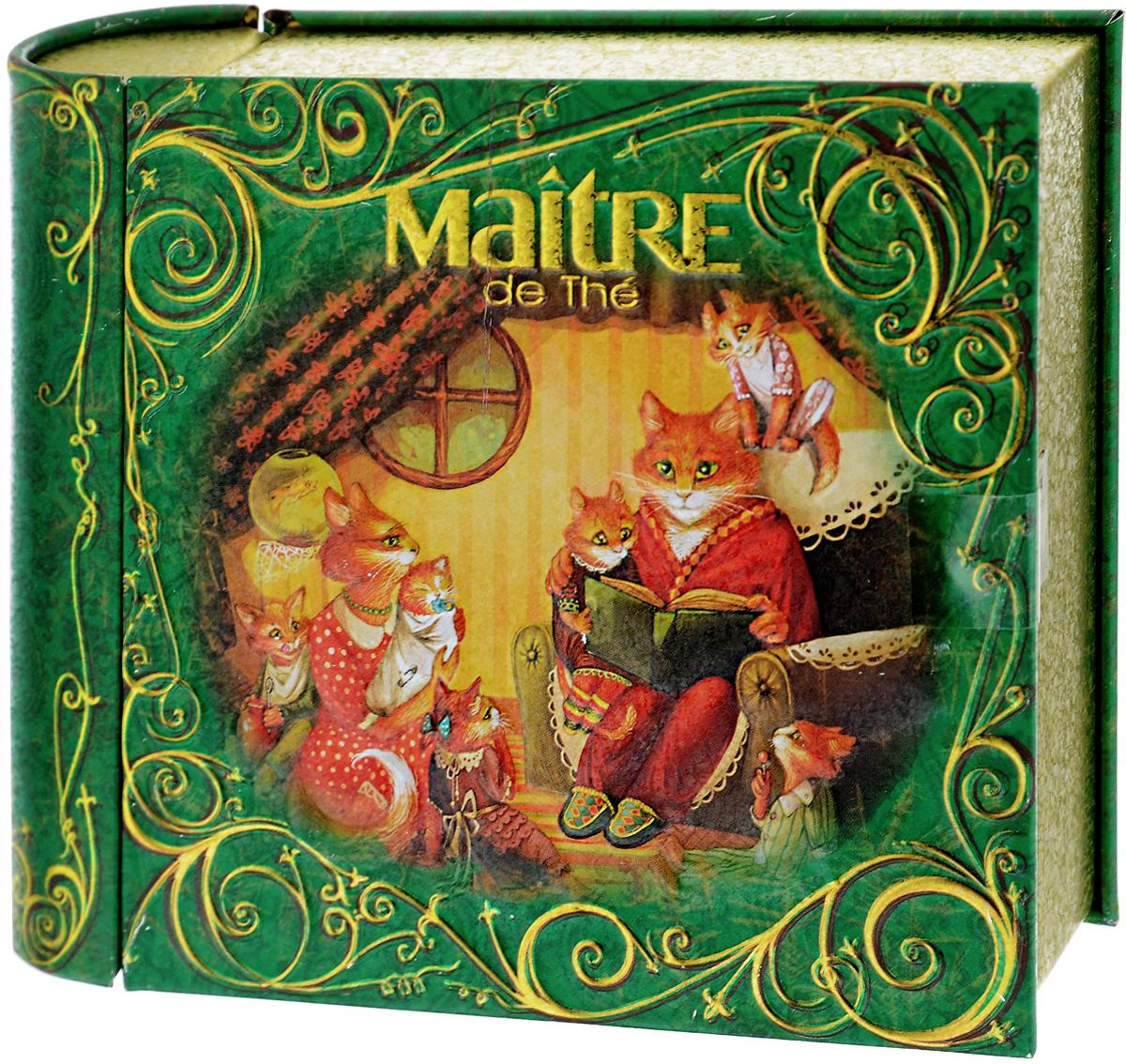 Maitre Домашний очаг чай черный листовой, 65 гбаж011Превосходный купаж черного байхового индийского и цейлонского листового чая Maitre Домашний очаг в новогодней подарочной упаковке в виде толстой книжки. Яркий, насыщенный дизайн, потешные герои – все рождает самые теплые и светлые чувства. Отлично подойдет в качестве подарка на новогодние праздники.