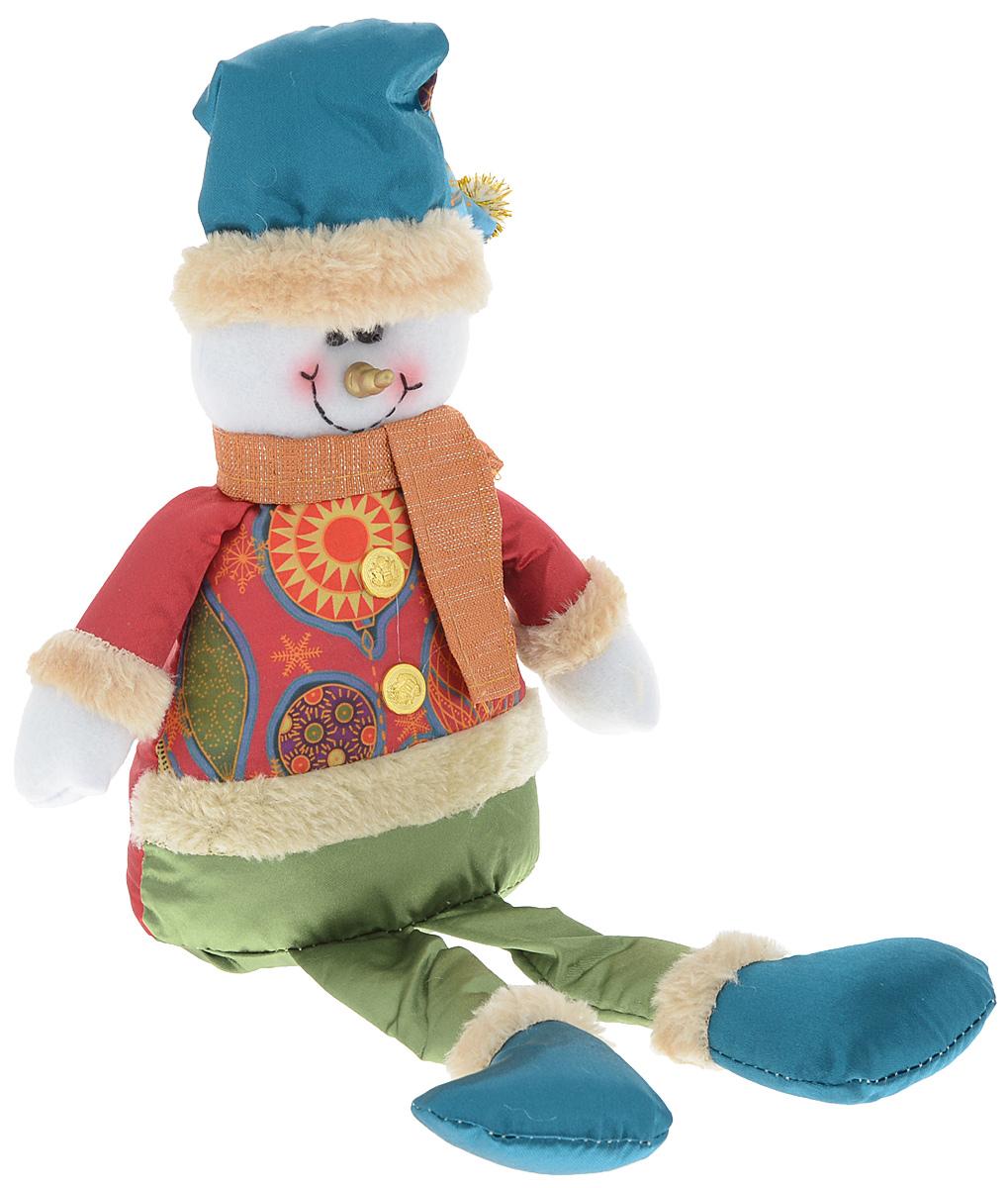 Украшение новогоднее декоративное Win Max Снеговик, 17,5 х 7 х 36 см175831_ВУкрашение новогоднее декоративное Win Max Снеговик прекрасно подойдет для праздничного декора вашего дома. Изделие выполнено из текстиля с наполнителем из синтепона в виде забавного снеговика. Для утяжеления и повышения устойчивости игрушки служит гранулят из полимера. Новогодние украшения несут в себе волшебство и красоту праздника. Они помогут вам украсить дом к предстоящим праздникам и оживить интерьер. Создайте в доме атмосферу тепла, веселья и радости, украшая его всей семьей. Кроме того, такая игрушка станет приятным подарком, который надолго сохранит память этого волшебного времени года.