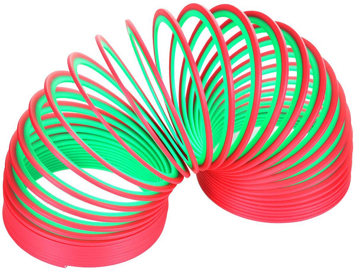 Slinky Пружинка цвет красный зеленыйСЛ110Пружинка Slinky - 100% классика жанра, идеально подходит для запуска по ступенькам! Пружинка Slinky появилась после Второй Мировой Войны. Эта пружинка - одна из самых любимых и известных игр в мире. Из пружинок делали гирлянды, играли с ними, запутывали, распутывали, пытались заставить ходить по ступенькам лестницы. Пружинка Slinky была в каждом доме. Порадуйте и вы себя этой увлекательной игрой с пружинкой.