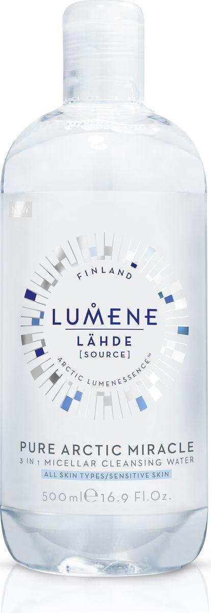 Lumene Lahde Мицеллярная вода 3 в 1, 500 млNL580-80325Бережно удаляет макияж и загрязнения, увлажняет кожу. Придает сияние при постоянном использовании. Не нужно смывать или наносить тоник после использования. Подходит для чувствительной кожи. Без отдушек.