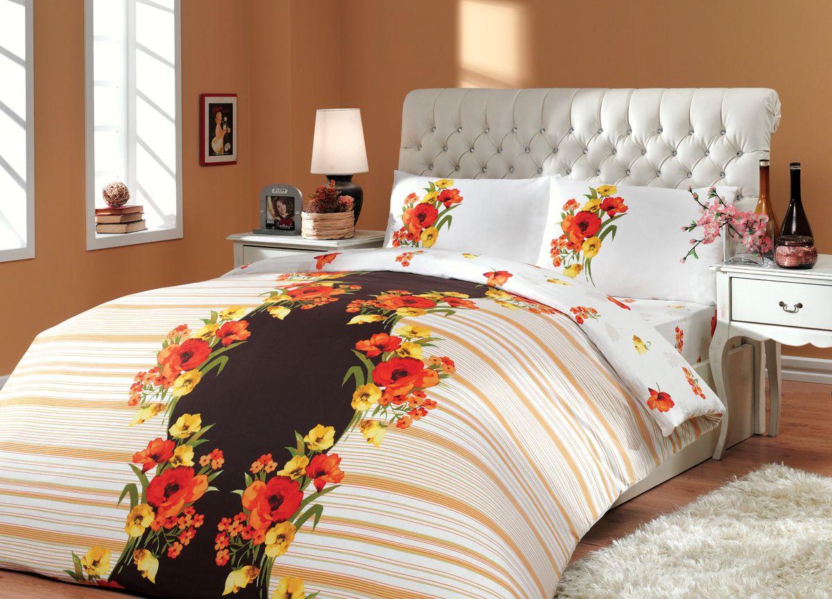 Комплект белья Hobby Home Collection Dream, 1,5-спальный, наволочки 50x70, 70x70, цвет: коричневый1501000216Комплект белья Hobby Home Collection состоит из простыни, пододеяльника и 2 наволочек. Белье выполнено из ранфорса - это ткань из 100% натурального хлопка, которая легко стирается, практичнее льна, подстраивается под температуру воздуха - зимой на таком белье тепло, летом - прохладно. Мягкость и нежность материала создает чувство комфорта и защищенности. У хлопка хорошая проводимость тепла, поэтому постельное белье из него может надолго оставаться свежим. Постельное белье с оригинальными дизайнами станет отличным выбором для людей, стремящихся всегда быть стильными.