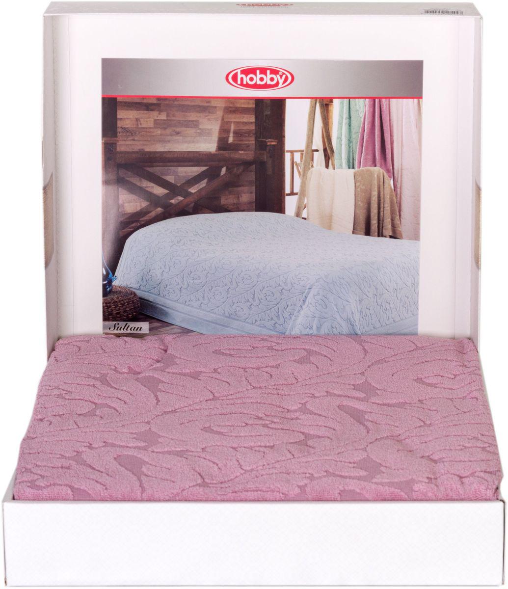 Покрывало Hobby Home Collection Sultan, цвет: розовый, 160 х 200 см1501001005Шикарное покрывало Hobby Home Collection Sultan изготовлено из 100% хлопка высшей категории. Оно обладает замечательными дышащими свойствами и будет хорошо смотреться как на диване, так и на большой кровати. Данное покрывало можно также использовать в качестве одеяла.