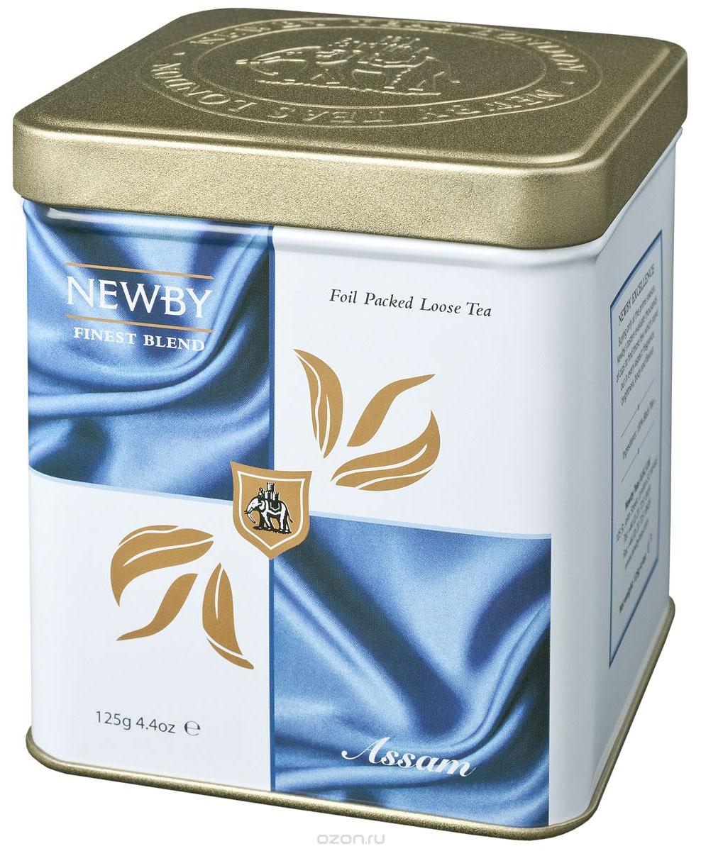 Newby Assam черный листовой чай, 125 г130010Чай Newby Assam из знаменитого чайного штата Ассам на северо-востоке Индии. Золотистые почки, янтарный настой с ароматом мелассы и солодовым послевкусием. По-настоящему крепкий, бодрящий чай.