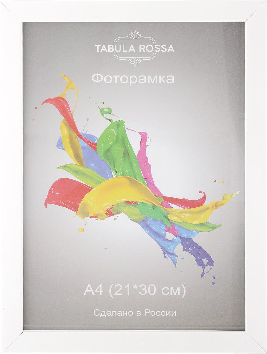 Фоторамка Tabula Rossa Глянец, цвет: белый, 21 х 30 см. ТР 50ТР 5062Фоторамка Tabula Rossa Глянец выполнена в современном стиле из МДФ, ДВП и стекла, защищающего фотографию. Оборотная сторона рамки оснащена двумя крючками для подвешивания. Такая фоторамка поможет вам оригинально и стильно дополнить интерьер помещения, а также позволит сохранить память о дорогих вам людях и интересных событиях вашей жизни. Размер фоторамки: 24 х 33 см. Подходит для фотографий размером: 21 х 30 см.