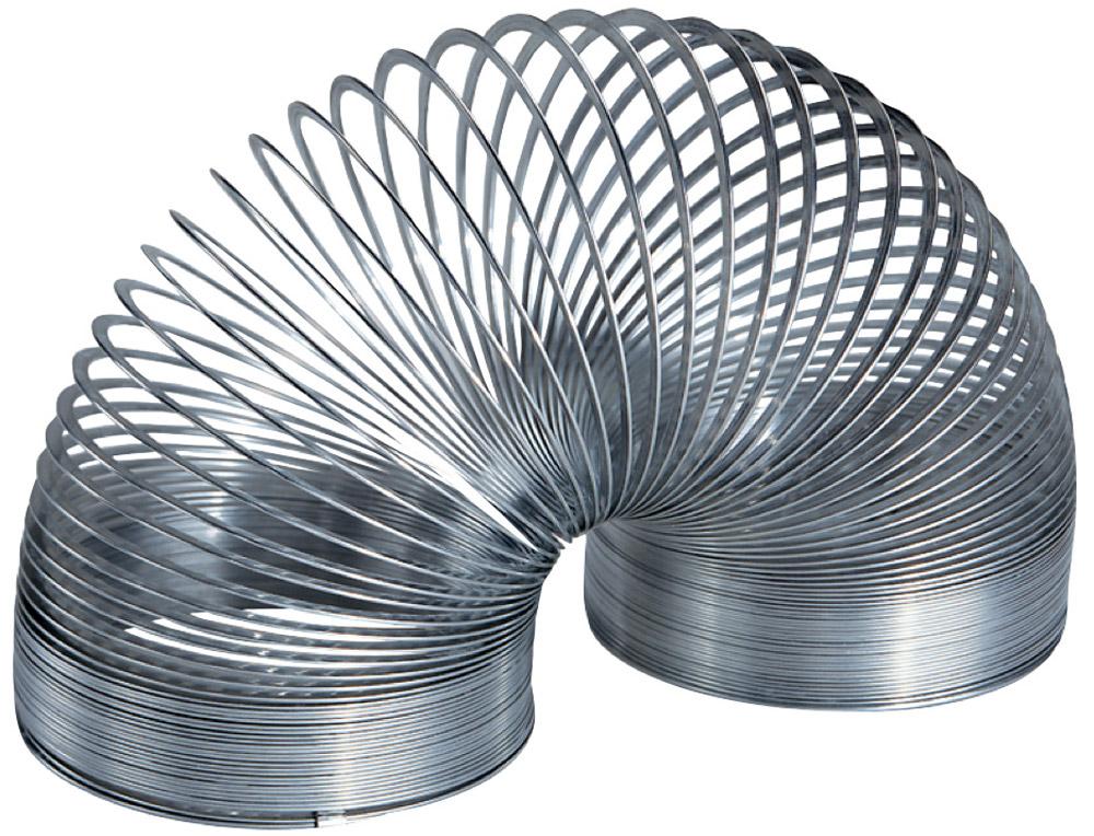 Slinky Пружинка металлическая ВеликанСЛ140BLЭто самая большая металлическая пружинка в линейке Slinky. Гигантская пружинка на 70% больше обычной металлической Slinky. А это значит, что она больше тянется, ходит по лестнице более крупными шагами. Пружинку Slinky любят дети, их родители, а так же бабушки и дедушки, ведь игрушка выпускается уже больше 60 лет!