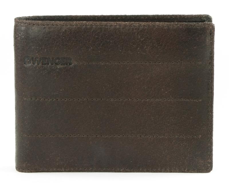 Портмоне мужское Wenger, цвет: коричневый. W29-14BRW29-14BRСтильное портмоне в горизонтальном формате WENGER Street Hunter W29-14BR. Элегантный деловой аксессуар для тех, кто ценит время и практичность. Портмоне прекрасно вмещает большое количество банкнот, для этого предусмотрены 2 отдела, имеется карман для монет, а для карточек и визиток предусмотрены 7 отсеков. В портмоне удобно и безопасно хранить документы – для этого имеются 4 отделения. Пропускной талон можно разместить в специальном сетчатом кармане. Размер изделия – 13х10х2 см. Подходит для хранения в кармане одежды. Внешняя отделка – гладкая воловья кожа с естественной фактурой натурального материала.