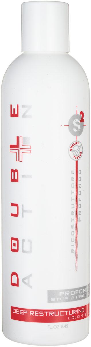 Hair Company Регенерирующее средство холодной фазы Double Action Ricostruttore Profondo Step 2 Freddo 250 мл010184_250мл/LB10695 RUSРегенерирующее средство холодной фазы Hair Company Double Action Ricostruttore Profondo Step 2 Freddo Холодная регенерирующая фаза, обладает вяжущим и восстанавливающим действием. Великолепно выглаживает структуру и смыкает чешуйки, тем самым, делая поверхность кутикулы более сильной и плотной. Обволакивает волос мембранной пленкой. Миристаты в составе продукта служат для смягчения, модифицированные фруктовые кислоты кондиционируют и придают дополнительный блеск, кератин восстанавливает и добавляет эластичность. Результат: упругие и блестящие волосы с полностью восстановленной структурой.