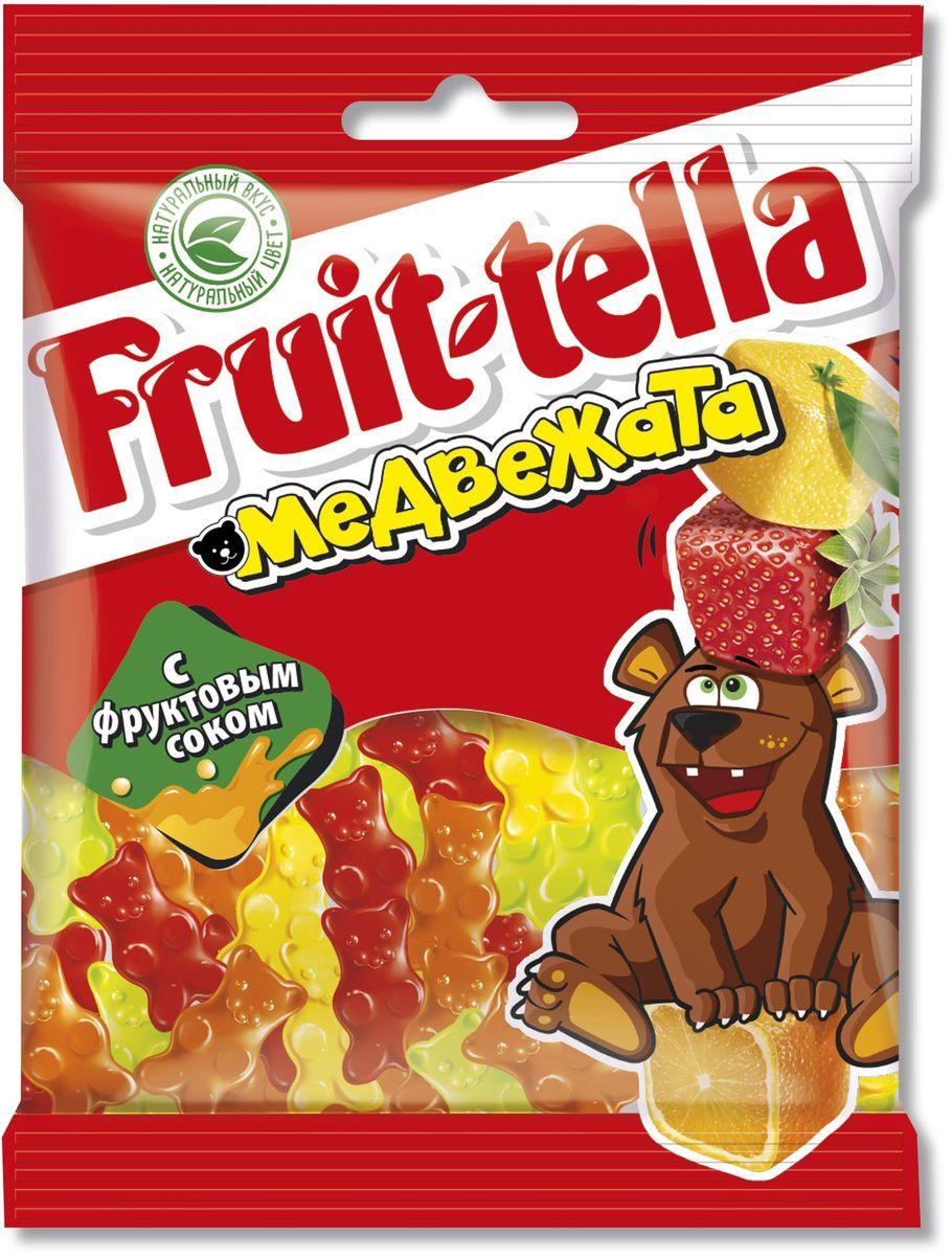 Fruittella Медвежата жевательный мармелад, 70 г8250135Сочные жевательные конфеты и мармелад Fruit-tella дарят детям и взрослым всю радугу цветов и вкусов: от апельсина и яблока до черной смородины и клубники! Они изготовлены по уникальной рецептуре с использованием только натуральных компонентов – фруктов, овощей и фруктовых соков!