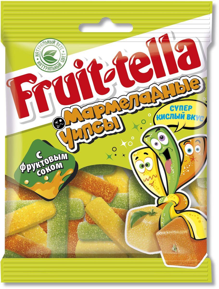 Fruittella Чипсы жевательный мармелад, 70 г8252281Сочные жевательные конфеты и мармелад Fruit-tella дарят детям и взрослым всю радугу цветов и вкусов: от апельсина и яблока до черной смородины и клубники! Они изготовлены по уникальной рецептуре с использованием только натуральных компонентов – фруктов, овощей и фруктовых соков!