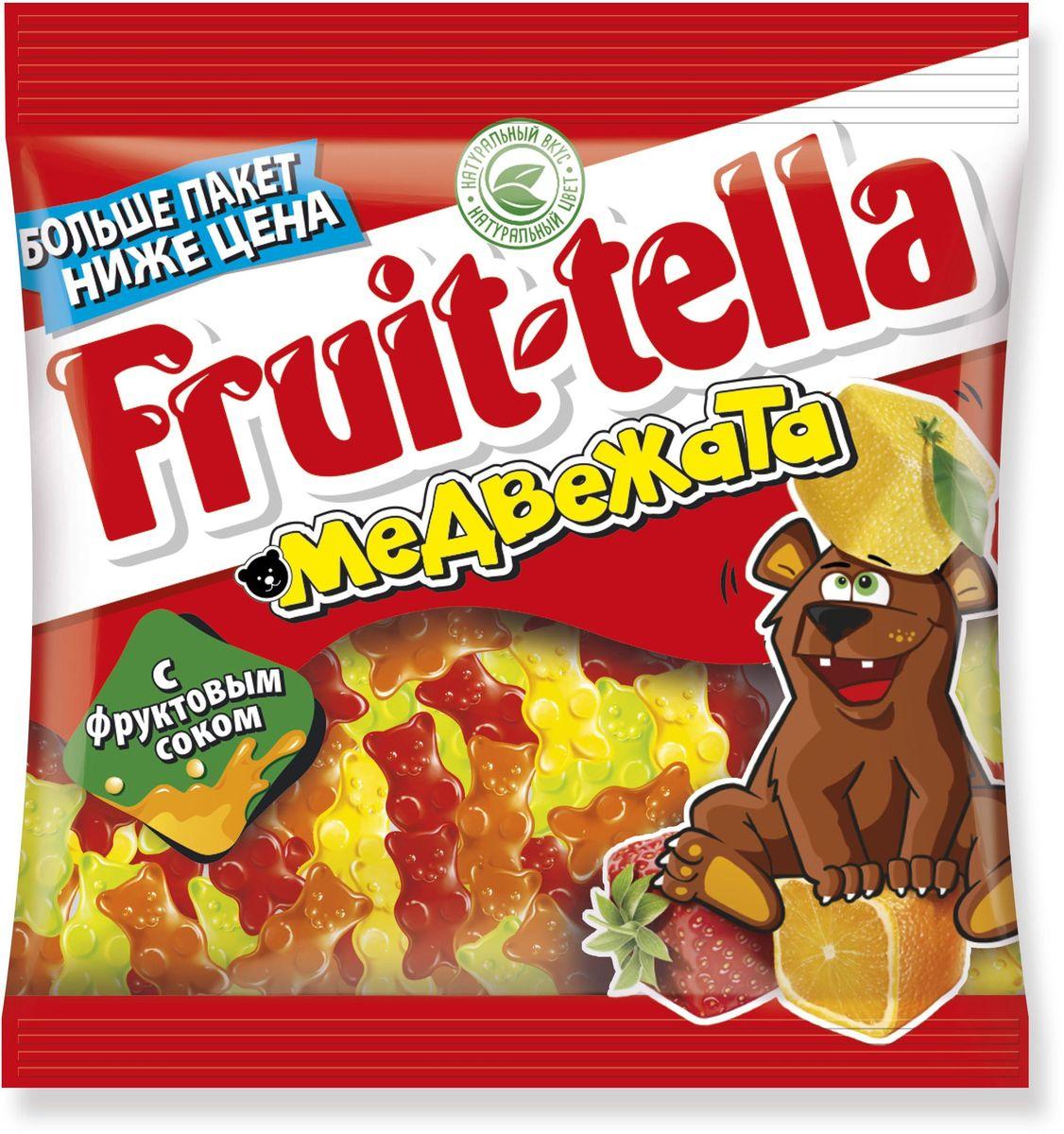 Сочные жевательные конфеты и мармелад Fruit-tella дарят детям и взрослым всю радугу цветов и вкусов: от апельсина и яблока до черной смородины и клубники! Они изготовлены по уникальной рецептуре с использованием только натуральных компонентов – фруктов, овощей и фруктовых соков!
