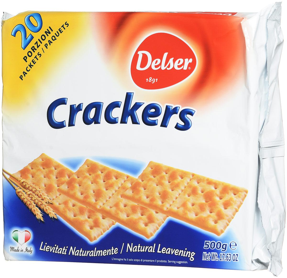 Delser крекеры, 500 г 0451