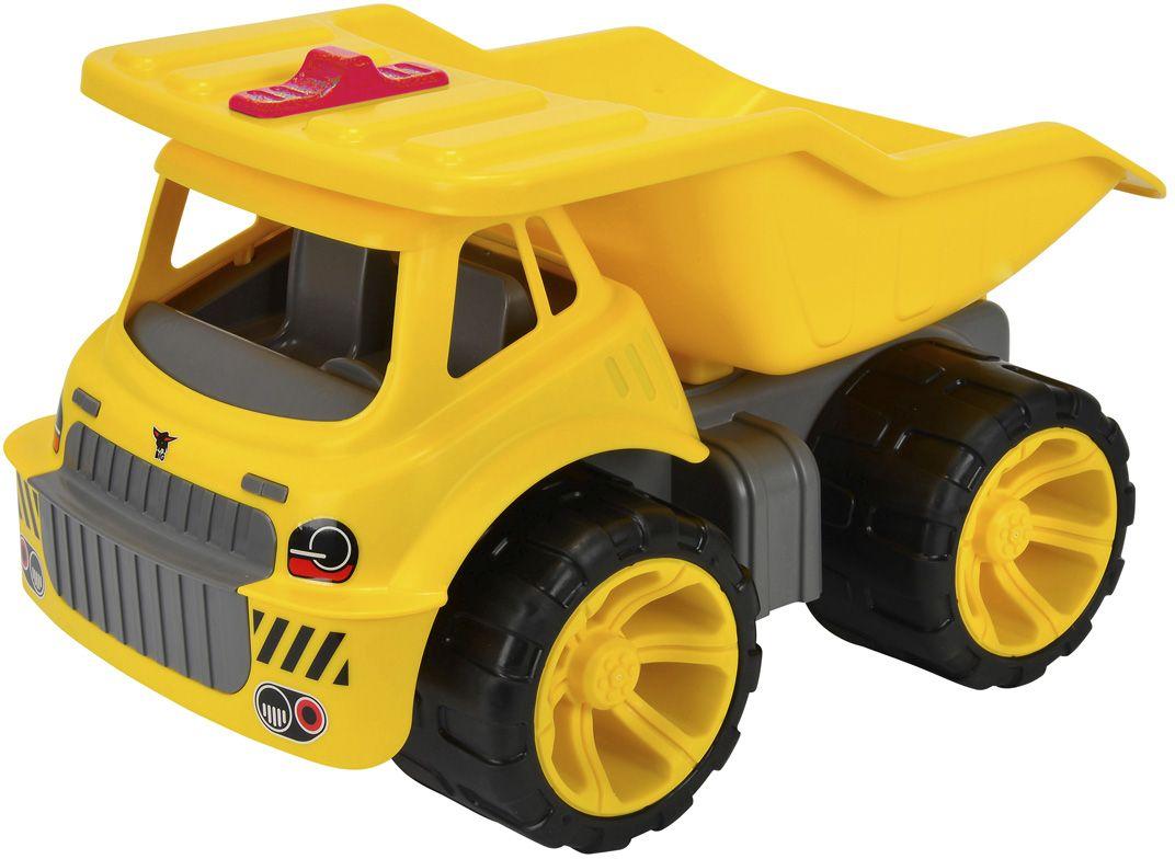 Big Машинка Maxi Truck55810Машинка Big Maxi Truck станет отличным подарком для любого мальчишки. Она обладает очень прочным корпусом из высококачественного пластика и позволяет пользоваться ею не только как игрушкой, но и как детской каталкой. Самосвал может поднимать кузов, в который можно загружать что угодно, начиная с песка и заканчивая различными мелкими предметами.