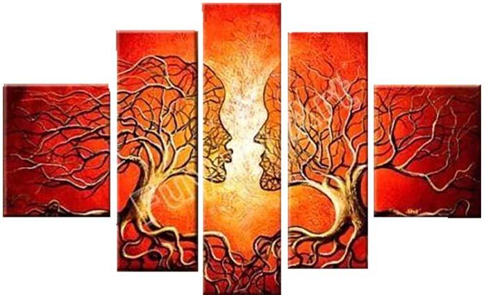 Картина Арт78 Деревья, модульная, 200 см х 120 см. арт780004арт780004Ничто так не облагораживает интерьер, как хорошая картина. Особенную атмосферу создаст крупное художественное полотно, размеры которого более метра. Подобные произведения искусства, выполненные в традиционной технике (холст, масляные краски), чрезвычайно капризны: требуют сложного ухода, регулярной реставрации, особого микроклимата – поэтому они просто не могут существовать в условиях обычной городской квартиры или загородного коттеджа, и требуют больших затрат. Данное полотно идеально приспособлено для создания изысканной обстановки именно у Вас. Это полотно создано с использованием как традиционных натуральных материалов (холст, подрамник - сосна), так и материалов нового поколения – краски, фактурный гель (придающий картине внешний вид масляной живописи, и защищающий ее от внешнего воздействия). Благодаря такой композиции, картина выглядит абсолютно естественно, и отличить ее от традиционной техники может только специалист. Но при этом изображение отлично смотрится с любого...