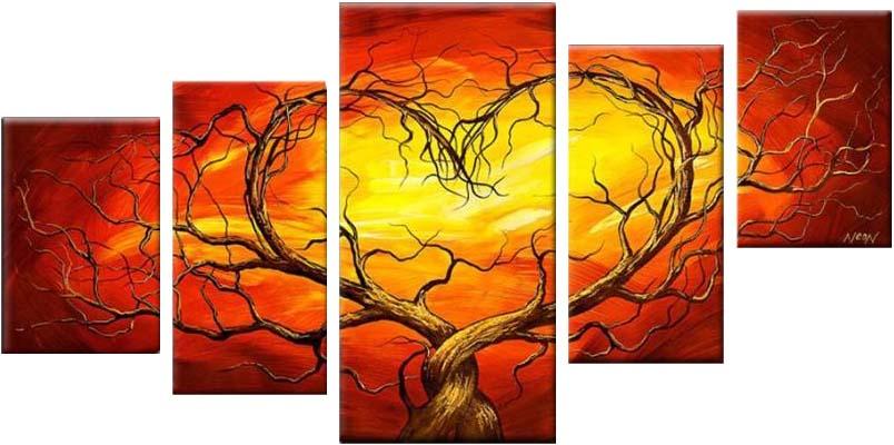 Картина Арт78 Сердце, модульная, 200 см х 120 см. арт780005арт780005Ничто так не облагораживает интерьер, как хорошая картина. Особенную атмосферу создаст крупное художественное полотно, размеры которого более метра. Подобные произведения искусства, выполненные в традиционной технике (холст, масляные краски), чрезвычайно капризны: требуют сложного ухода, регулярной реставрации, особого микроклимата – поэтому они просто не могут существовать в условиях обычной городской квартиры или загородного коттеджа, и требуют больших затрат. Данное полотно идеально приспособлено для создания изысканной обстановки именно у Вас. Это полотно создано с использованием как традиционных натуральных материалов (холст, подрамник - сосна), так и материалов нового поколения – краски, фактурный гель (придающий картине внешний вид масляной живописи, и защищающий ее от внешнего воздействия). Благодаря такой композиции, картина выглядит абсолютно естественно, и отличить ее от традиционной техники может только специалист. Но при этом изображение отлично смотрится с любого...