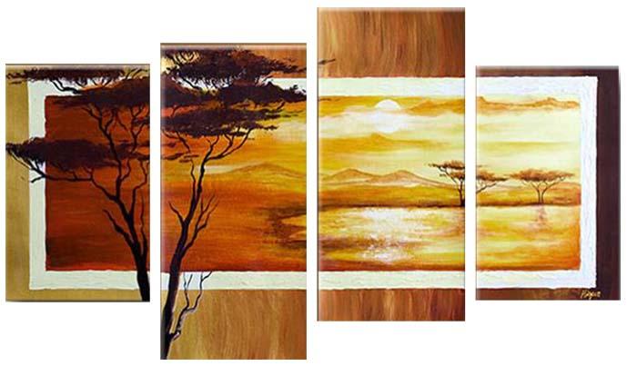 Картина Арт78 Природа, модульная, 180 см х 120 см. арт780021арт780021Ничто так не облагораживает интерьер, как хорошая картина. Особенную атмосферу создаст крупное художественное полотно, размеры которого более метра. Подобные произведения искусства, выполненные в традиционной технике (холст, масляные краски), чрезвычайно капризны: требуют сложного ухода, регулярной реставрации, особого микроклимата – поэтому они просто не могут существовать в условиях обычной городской квартиры или загородного коттеджа, и требуют больших затрат. Данное полотно идеально приспособлено для создания изысканной обстановки именно у Вас. Это полотно создано с использованием как традиционных натуральных материалов (холст, подрамник - сосна), так и материалов нового поколения – краски, фактурный гель (придающий картине внешний вид масляной живописи, и защищающий ее от внешнего воздействия). Благодаря такой композиции, картина выглядит абсолютно естественно, и отличить ее от традиционной техники может только специалист. Но при этом изображение отлично смотрится с любого...