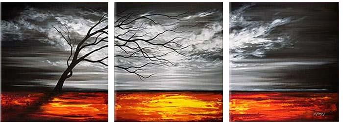 Картина Арт78 Шторм, модульная, 120 см х 40 см. арт780033-3арт780033-3Ничто так не облагораживает интерьер, как хорошая картина. Особенную атмосферу создаст крупное художественное полотно, размеры которого более метра. Подобные произведения искусства, выполненные в традиционной технике (холст, масляные краски), чрезвычайно капризны: требуют сложного ухода, регулярной реставрации, особого микроклимата – поэтому они просто не могут существовать в условиях обычной городской квартиры или загородного коттеджа, и требуют больших затрат. Данное полотно идеально приспособлено для создания изысканной обстановки именно у Вас. Это полотно создано с использованием как традиционных натуральных материалов (холст, подрамник - сосна), так и материалов нового поколения – краски, фактурный гель (придающий картине внешний вид масляной живописи, и защищающий ее от внешнего воздействия). Благодаря такой композиции, картина выглядит абсолютно естественно, и отличить ее от традиционной техники может только специалист. Но при этом изображение отлично смотрится с любого...