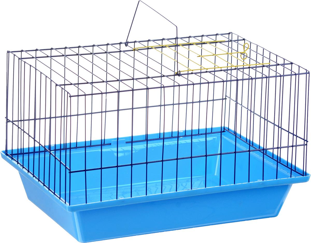 Клетка для морской свинки ЗооМарк, цвет: голубой поддон, синяя решетка, 41 х 30 х 25 см210_голубой, синийКлетка ЗооМарк, выполненная из полипропилена и металла, подходит для морских свинок и других грызунов. Клетка имеет яркий поддон, удобна в использовании и легко чистится. Сверху имеется ручка для переноски. Такая клетка станет личным пространством и уютным домиком для вашего питомца.