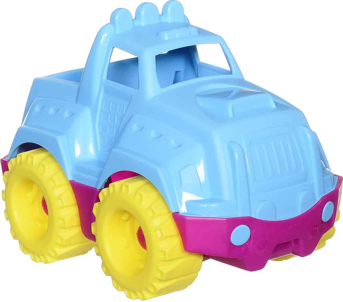 Нордпласт Джип Шкода цвет голубойШКД10_голубойМаленький джип Нордпласт Шкода понравится ребенку своей яркостью, а родителям прочностью и безопасностью. Игрушка обтекаемой формы, не имеет мелких деталей. Малыш будет развивать пространственное восприятие и координацию движений, играя с автомобилем и катая его по поверхности. Материал, из которого изготовлена машинка, не токсичен и безвреден для детей.