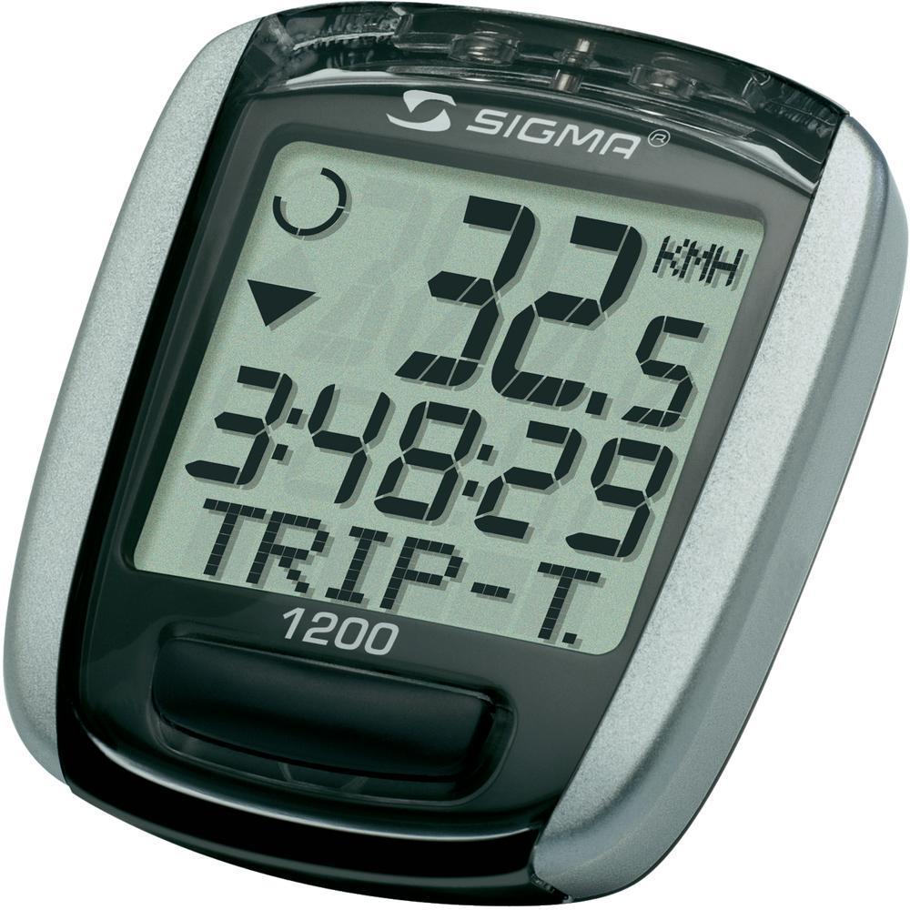Велокомпьютер Sigma BС 1200 Baseline, 12 функцийSIG_1910Самый функциональный велокомпьютер серии Base. 12 необходимых функции на борту, в том числе средняя скорость и возможность установки на 2 велосипед. Характеристики: Количество функций: 12 Скорость Максимальная скорость Средняя скорость Сравнение средней/актуальной скоростей Общий пробег Дневной пробег Часы Секундомер Время в пути Общее время в пути Возможность установки 2х размеров колес Выбор языка