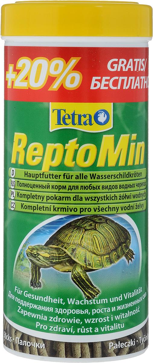 Корм для водных черепах Tetra ReptoMin, палочки, 300 мл (66 г)761346_20% бесплатно/1Корм Tetra ReptoMin - полноценный сбалансированный питательный корм высшего качества для любых видов водных черепах. Поддерживает здоровье, нормальный рост и придает жизненные силы. Оптимальное соотношение кальция и фосфора для формирования твердого панциря и крепких костей. Запатентованная БиоАктив-формула обеспечивает здоровую иммунную систему. Товар сертифицирован.
