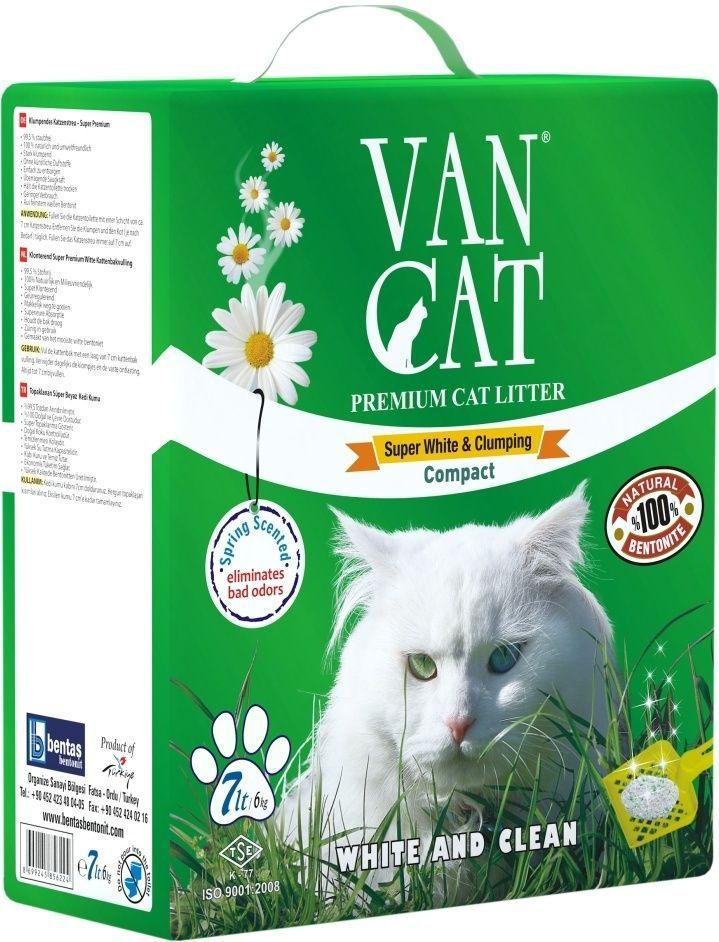 Наполнитель для кошачьих туалетов Van Cat