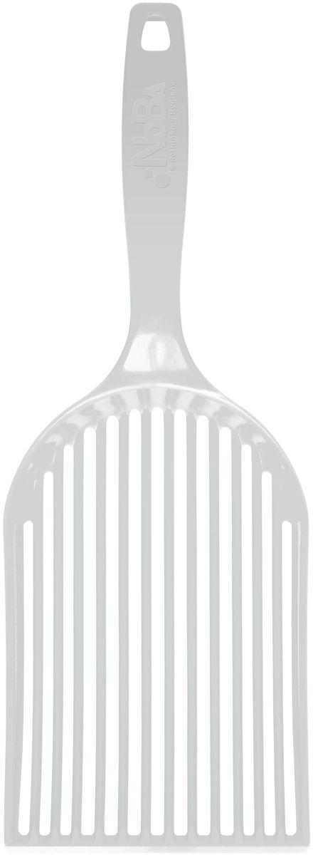 Совок-эко для кошачьего туалета Canada Litter Нано люкс, цвет: серый20603.серАнтибактериальное покрытие Больше никаких облаков пыли Инновационный дизайн Высокая прочность Особенности: Легкий, прочный и эффективный! Инновационный дизайн NOBA Scoop делает уборку быстрой и простой. Изготовленный из ABS пластика, совок не гнется, когда Вы убираете использованный наполнитель из лоточка. Благодаря треугольной форме лопастей наполнитель проходит через лопатку быстро и равномерно, без единого комочка. Не поднимает пыли. Очень легкий и удобный. Большая лопатка и крутое основание позволяет сделать уборку в одно мгновение! Антибактериальное покрытие совка NOBA Scoop предупреждает образование и распространение бактерий и грибков С совочком NOBA Scoop Ваш лоток останется чистым и свежим еще дольше!