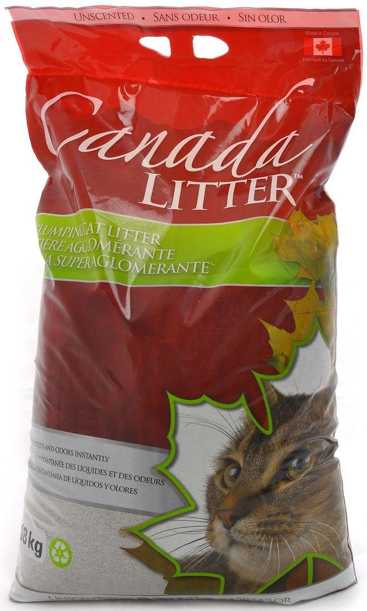 Наполнитель для кошачьих туалетов Canada Litter Запах на Замке, комкующийся, без запаха, 18 кг24516Комкующийся наполнитель Canada Litter - канадский наполнитель супер-премиум класса. Наполнитель Canada Litter Запах на замке изготовлен из натриевого бентонита и производится в Канаде. - Наполнитель впитывает 350% влаги (в 3,5 раза больше собственного веса). - Специальные гранулы напоминают кошке ее естественную среду. - Обладает высокой впитывающей и комкующей способностью. Результат заметен мгновенно – при увлажнении сразу образуется плотный комочек. - Бентонит - высокачественная глина, которая быстро поглощает запахи, легко комкуется в большие твердые комочки и весьма экономична в расходовании. Инструкция по применению: 1. Наполните чистый лоток кошачьего туалета Комкующимся наполнителем Canada Litter слоем в 10-12 см. 2. Ежедневно удаляйте совком образовавшиеся комочки. 3. Добавляйте необходимое количество наполнителя, чтобы восполнить содержимое туалета. 4. НИ В КОЕМ СЛУЧАЕ НЕ ВЫБРАСЫВАЙТЕ В УНИТАЗ!