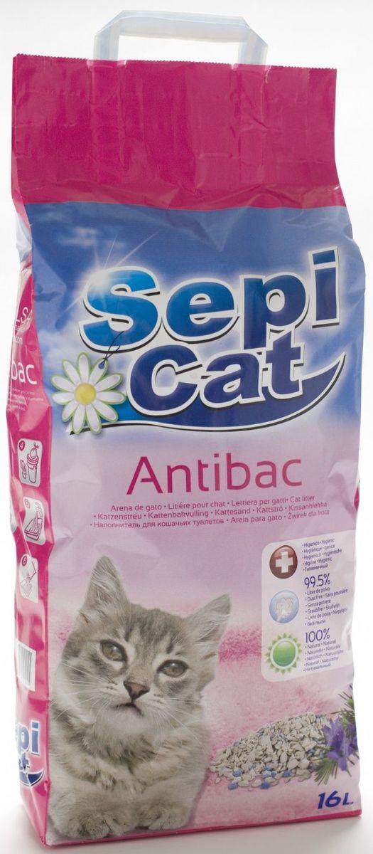 Наполнитель для кошачьих туалетов Sepiolsa Антибактериальный, впитывающий, 16 л26241Экологически чистый антибактериальный впитывающий наполнитель для кошачьего туалета. Изготовлен из 100% натуральных минеральных компонентов. Безопасен для животного и для человека. Инновационная антибактериальная формула обеспечит исключительную гигиеничность лотка, защищая вашего питомца и дом от бактерий. Быстро и эффективно впитывает и удерживает большое количество влаги, надежно поглощает запах, не допускает появления неприятного запаха вновь. Антибактериальные ароматические гранулы активируются при контакте с жидкостью, что обеспечит чистоту и комфорт на продолжительное время. Состав: 100% натуральная глина, антибактериальные добавки. Способ применения: наполните лоток наполнителем на 5-6 см. Убирайте твердые отходы регулярно, без полной замены наполнителя. Полностью меняйте наполнитель один раз в 7-10 дней.