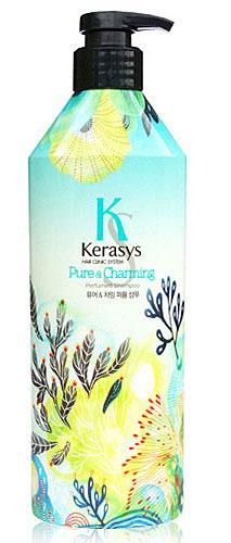 Kerasys Шампунь для волос Perfumed. Шарм, 600 мл992722Специально разработанная формула для сухих и ломких волос, мгновенно увлажняет и восстанавливает структуру волос по всей длине. Волосы обретают жизненную силу, блеск и шелковистость. Содержит пантенол (провитамин В5), экстракты белой лилии и гардении. Аромат: чистый и свежий, словно прохлада раннего весеннего утра. Придаст Вам невероятный шарм и неповторимое очарование. Парфюмерная композиция: Начальная нота: бергамот, мандарин, зеленый мандарин. Средняя нота: ландыш, цветы персика, розовая роза. Нижняя нота: кедр, мускус, кардамон. Характеристики: Объем: 600 мл. Артикул: 992722. Производитель: Корея. Товар сертифицирован.