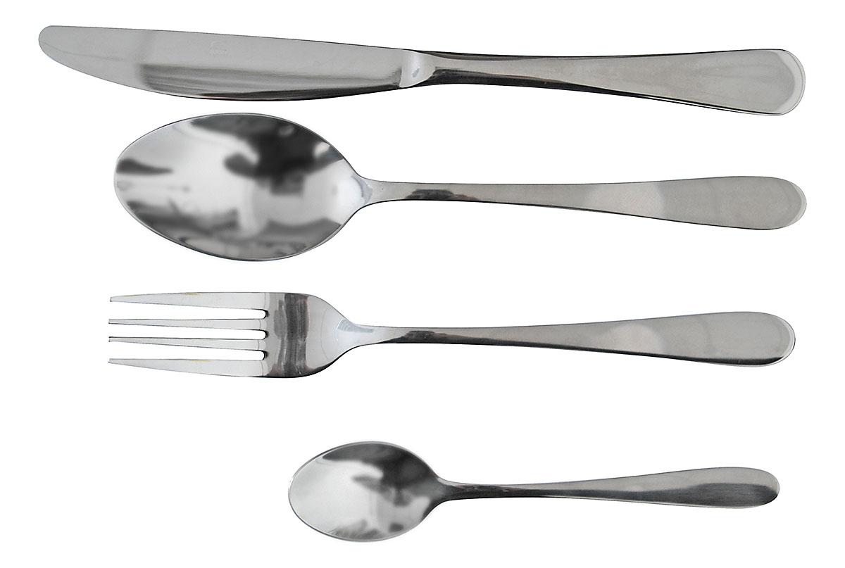Набор столовых приборов Marvel, цвет: серый, 24 предмета815