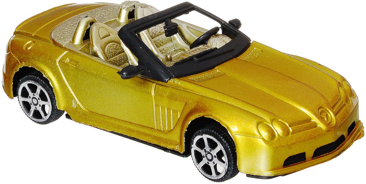 Junfa Toys Кабриолет инерционный цвет желтыйA6578_желтыйИнерционный кабриолет Junfa Toys, выполненный из безопасного пластика, станет любимой игрушкой вашего ребенка. Машинка изготовлена в виде яркого кабриолета с двумя сиденьями. Игрушка оснащена инерционным ходом. Необходимо просто отвести ее назад, затем отпустить - и она быстро поедет вперед. Ребристые колеса обеспечивают надежное сцепление с любой поверхностью. Ваш ребенок будет увлеченно играть с этой машинкой, придумывая различные истории. Порадуйте его таким замечательным подарком!