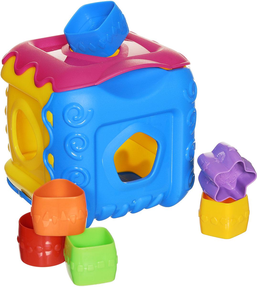 Нордпласт Сортер Кубик цвет желтый розовый голубойН-784_желтый, розовый, голубойСортер Нордпласт Кубик обязательно понравится вашему малышу и доставит ему много удовольствия от часов игры с ним. Игрушка представляет собой кубик с отверстиями разной формы, куда нужно вставлять соответствующие фигуры. Одна из частей кубика выполнена в виде крышки, которую можно поднимать. В комплекте имеется 6 разноцветных деталей разной геометрической формы, которые малышу нужно поместить в кубик через подходящее отверстие. Логические игры-сортеры вырабатывают умение узнавать и различать форму или изображение предмета, его цвет, развивают абстрактное мышление, моторику, а также учат классифицировать, обобщать и сравнивать. Порадуйте малыша такой яркой игрушкой!
