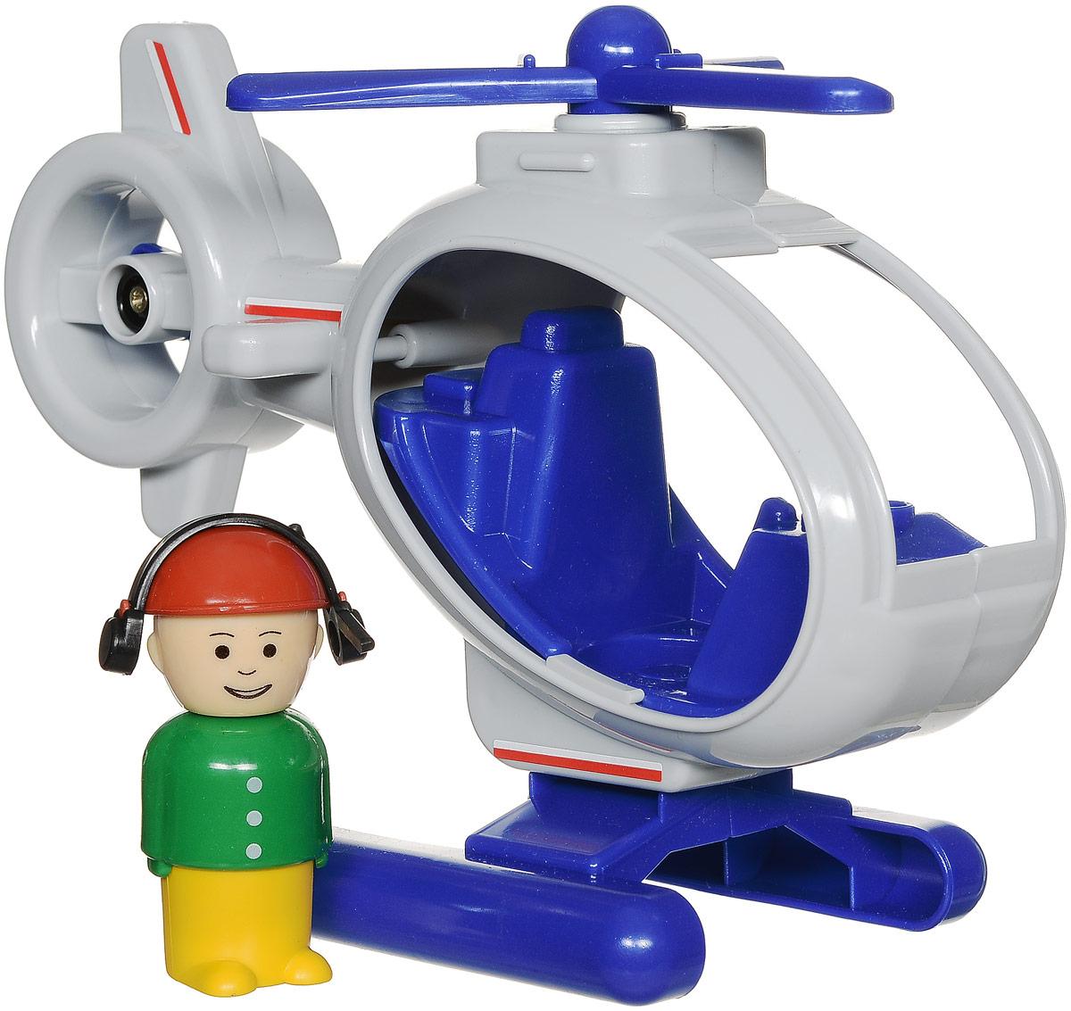Форма Вертолет Детский сад цвет светло-серыйС-122-Ф_белыйВертолет Форма Детский сад - это оригинальная игрушка, изготовленная из качественного материала. Основной и хвостовой пропеллеры вращаются. В комплекте с вертолетом имеется фигурка пилота. Пилот в ярко-зеленой курточке и желтых брючках. Фигурку можно вынуть из вертолета и играть с ней отдельно. Округлые формы и отсутствие острых углов позволят играть с вертолетом даже самым маленьким детишкам. Интересная форма и движущиеся элементы принесут массу радостных эмоций малышку!