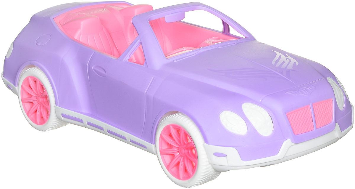 Нордпласт Кабриолет Нимфа цвет сиреневый розовыйН-297_сиреневый, розовыйМашинка Нордпласт Кабриолет Нимфа привлечет внимание вашей малышки и не позволит ей скучать. Теперь у любимых кукол будет открытый автомобиль всем на зависть! На этой шикарной двухместной машинке можно умчаться навстречу приключениям, а можно и съездить за модными покупками. Внутри кабриолета розовые сиденья и детализированная панель управления с рулем. Игрушка изготовлена из пищевого пластика, что обеспечивает дополнительную безопасность при их использовании детьми младших возрастов. Ваша малышка сможет катать свою любимую куклу и ее подружек. Порадуйте ее таким замечательным подарком!