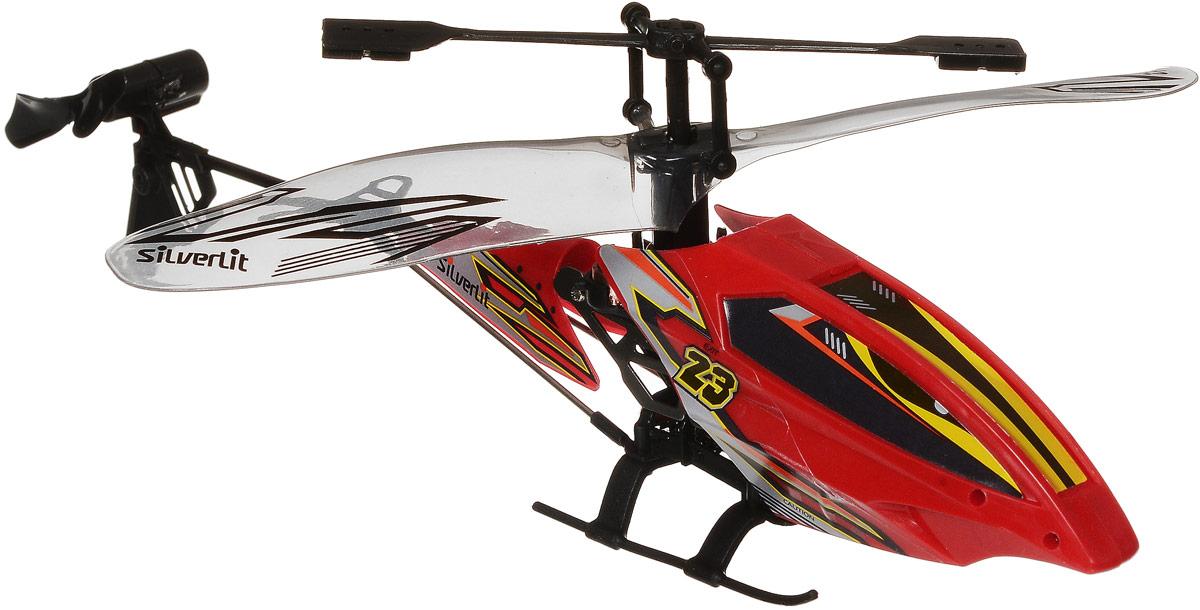 Silverlit Вертолет на инфракрасном управлении Вихрь цвет красный84701_красныйВертолет на инфракрасном управлении Silverlit Вихрь привлечет внимание не только ребенка, но и взрослого, он станет отличным подарком любителю воздушной техники. Вертолет имеет трехканальное дистанционное управление. Встроенный гироскоп гарантирует стабилизацию полета. Возможные движения: взлет и посадка, поворот налево и направо, полет вперед и назад. Вертолет идеально подходит для игры внутри помещения. Каркас вертолета выполнен из пластика с использованием металла. Каждый полет вертолета будет максимально комфортным и принесет вам яркие впечатления! При включении вертолета, светодиод под кабиной автоматически загорится. Вертолет работает от встроенного аккумулятора. Заряжается аккумулятор с помощью пульта дистанционного управления (входит в комплект). Время зарядки составляет 20-30 минут. Время работы вертолета с полностью заряженным аккумулятором - 4-5 минут. Для работы пульта управления необходимо купить 4 батарейки типа АА напряжением 1,5V (не входят в комплект).