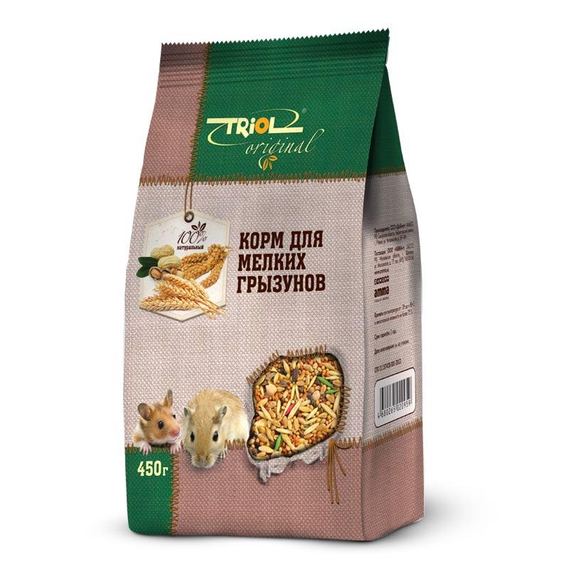 Корм Triol Original, для мелких грызунов, 450 гTF-01100Корма и лакомства Triol Original содержат только натуральные ингредиенты и изготовлены из отборного зерна. Оригинальная рецептура учитывает пещевые потребности вашего пернатого питомца. Сбалансированный и разнообразный состав не только удовлетворяет вкусовым предпочтениям, но и укрепляет здоровье.