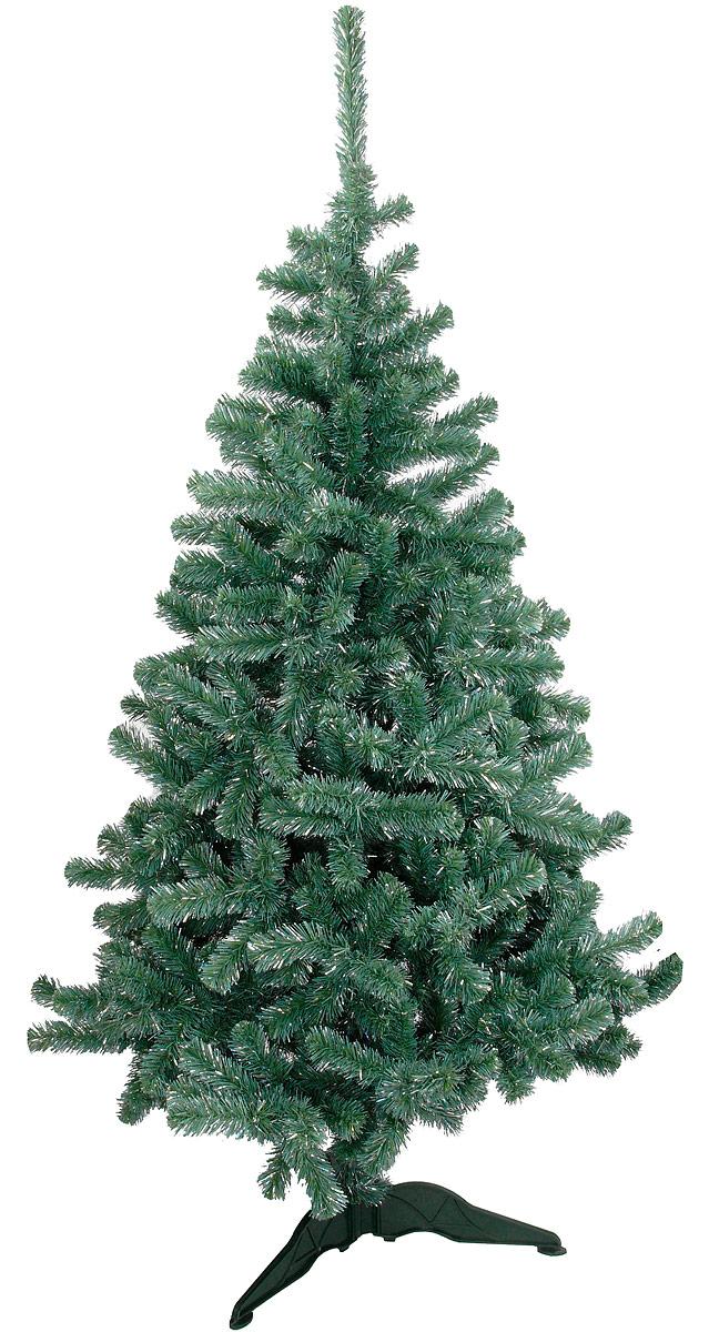 Ель искусственная Morozco Хрустальная, высота 120 см2512Искусственная ель Хрустальная - прекрасный вариант для оформления вашего интерьера к Новому году. Такие деревья абсолютно безопасны, удобны в сборке и не занимают много места при хранении. Ель состоит из верхушки, сборного ствола и устойчивой подставки. Ель быстро и легко устанавливается и имеет естественный и абсолютно натуральный вид, отличающийся от своих прототипов разве что совершенством форм и мягкостью иголок. Еловые иголочки не осыпаются, не мнутся и не выцветают со временем. Полимерные материалы, из которых они изготовлены, не токсичны и не поддаются горению. Ель Morozco обязательно создаст настроение волшебства и уюта, а также станет прекрасным украшением дома на период новогодних праздников.