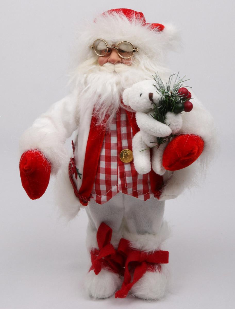 Кукла ESTRO, цвет: красный, диаметр 30 см. C21-121167C21-121167Кукла создана вручную, неповторима и оригинальна. Порадуйте своих друзей и близких этим замечательным подарком!