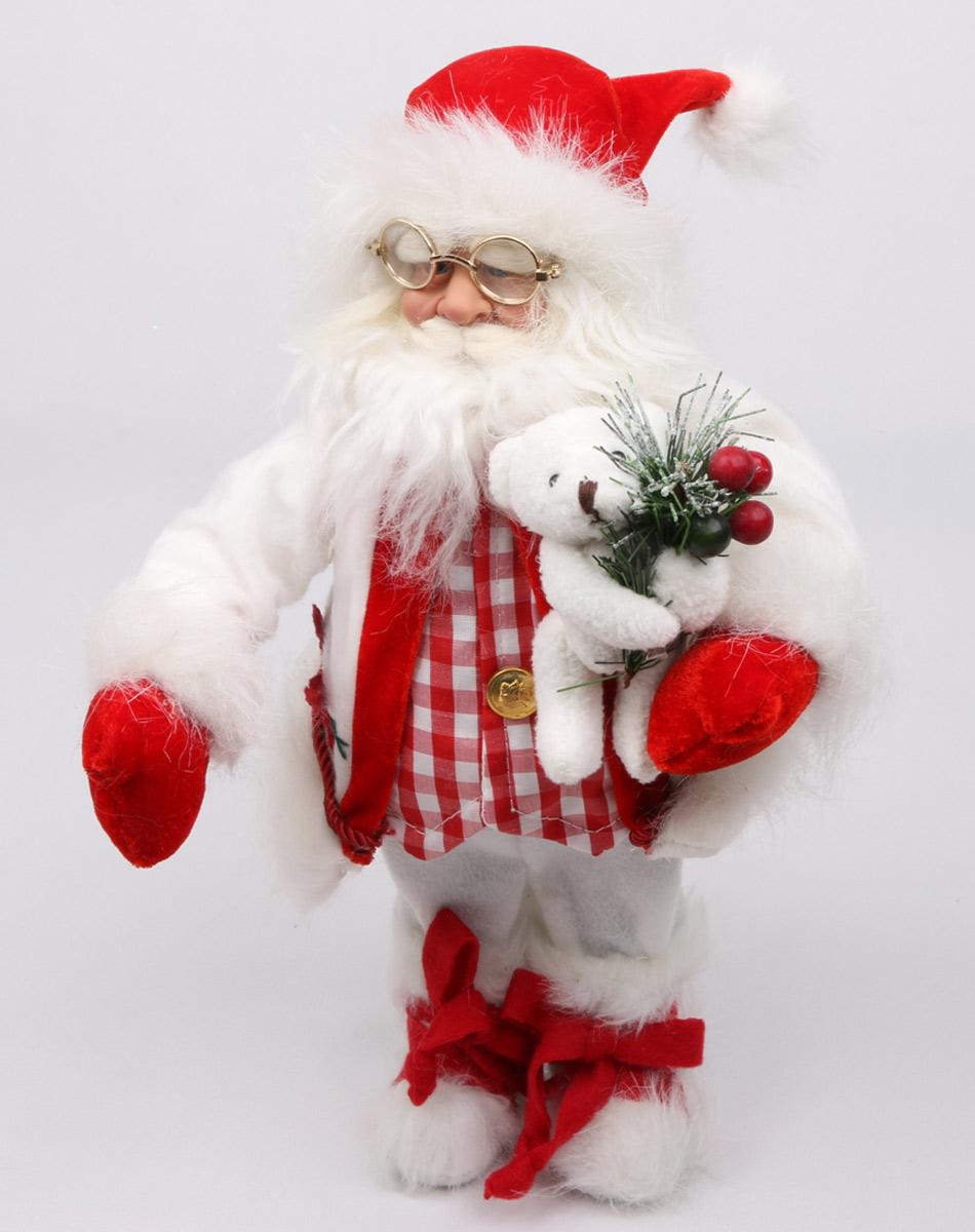 Кукла ESTRO, цвет: красный, диаметр 45 см. C21-181103C21-181103Кукла создана вручную, неповторима и оригинальна. Порадуйте своих друзей и близких этим замечательным подарком!