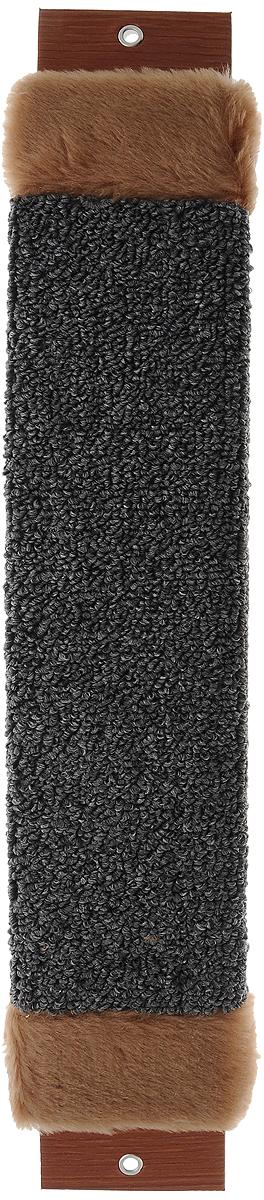 Когтеточка Неженка, с мехом, с кошачьей мятой, 51 х 10 х 2,5 см6907Когтеточка Неженка поможет сохранить мебель и ковры в доме от когтей вашего любимца, стремящегося удовлетворить свою естественную потребность точить когти. Основание изделия изготовлено из ДСП и обтянуто прочной тканью, а столб для точения когтей обтянут джутом. Товар продуман в мельчайших деталях и, несомненно, понравится вашей кошке. Всем кошкам необходимо стачивать когти. Когтеточка - один из самых необходимых аксессуаров для кошки. Для приучения к когтеточке можно натереть ее сухой валерьянкой или кошачьей мятой. Когтеточка поможет вашему любимцу стачивать когти и при этом не портить вашу мебель.